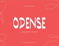 Odense Handwritten Font