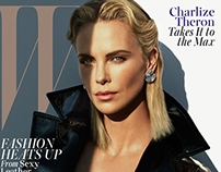 #Actress @Charlize Theron is the May 2015 cover star