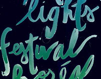 Northern Lights Festival Boreal Poster