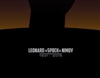 "R.I.P. Leonard ""Spock"" Nimoy"