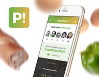 Prostřeno! | App concept