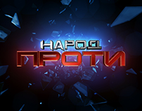 Branding politik TV show Zik channel Ukraine