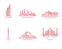 Monument icons