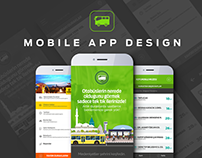 Konya Mobile App Design