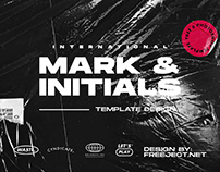 International Mark & Initials Logo Design Template