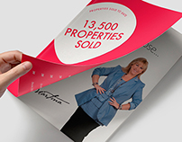 13,500 PROPERTIES SOLD - Real Estate Brochure Design