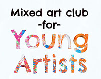 Mixed Art Club for Young Artists