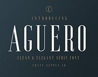 Aguero Serif - Clean & Luxury Font (Free Download)