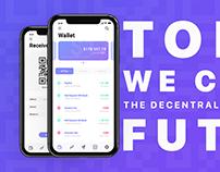 Bitcoin Wallet - iOS Concept App 2018