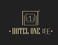 Logo Branding for Hotel One