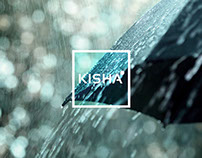 Kisha umbrella brand and application design