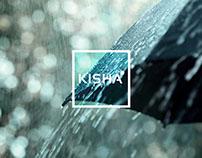 Kisha umbrella brand and application design