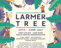 Larmer Tree Festival Poster - Personal Project