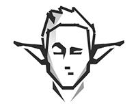 Face Man / Infograpics Character Design