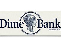 Dime Bank Logo Illustrated by Steven Noble