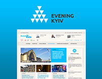 Evening Kyiv - Local Media New Website