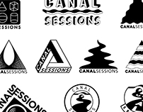 Canal Session (logo design)