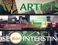Grolsch Urban Expression Integrated Campaign