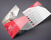 Square Tri fold Business Brochure