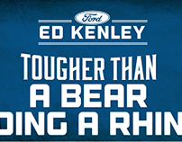 Ed Kenley Ford 2017 Billboards