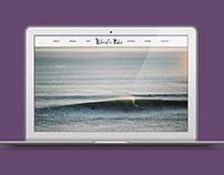 Behind the Tide | Surf Film Brand Creation & UI/IX
