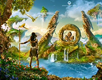 Eternal Nature - Desktopography 2015
