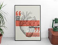 Helvetica Poster Series