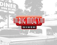 Big Moe's Diner Branding