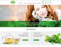 Herbapol - projekt WWW