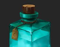 Material cube set