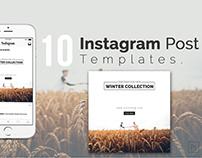 10 Instagram Post Design