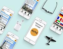 Flüchtlings App AVNI