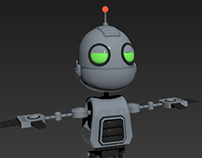 Clank from Ratcher and Clank Game