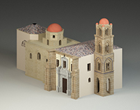 Ammiraglio's Church 3D animation building
