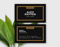 Free Download - Minimal Business Card Design Template