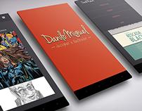 Aplicativo para Android de apresentação de Portfolio