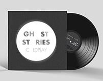 LP Vinyl Album Redesign - Coldplay's 'Ghost Stories'