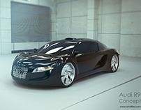 Audi R9 3D Concept