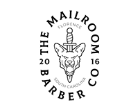 The Mailroom Barber Co. - Logo & Branding