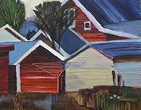 Norwegian album/ Painting