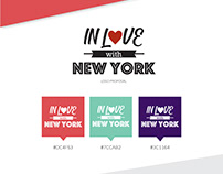 In Love with NY Logotype