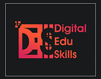Digital Edu Logo Design