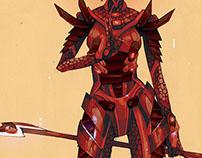 Harlekin Body Armour (Female)