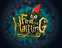 Find the Halfling - Game logo