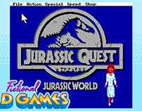 Fictional Bad Games - Jurassic Quest: Sierra Spoof