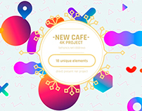 New Cafe 4K After Effects Template