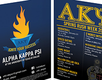 Alpha Kappa Psi Fraternity - UT Dallas Chapter