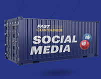 Fast Container Social Media