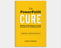The PowerPoint Cure Book Cover Design