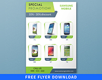 Product Promotional Flyer (freebie)